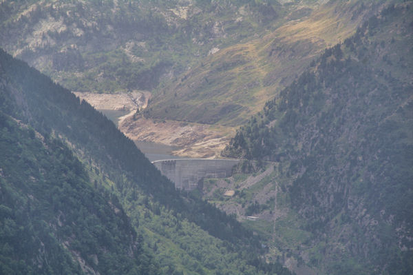 Le barrage de l_Etang de Naguille