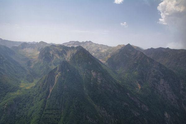 La Coume des Gnioules et le vallon supérieur de l_Oriege