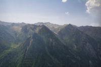 La Coume des Gnioules et le vallon superieur de l'Oriege