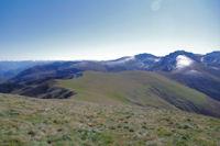 La crete Sud du Pic d'Estibat du Sommet des Griets au Col del'Estagnou