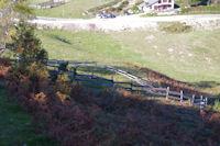 Un parc a bestiaux au Col de Port