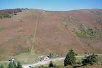 La raide montee au Roc Blanc depuis le Col de Port