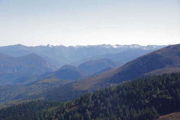 Les cîmes des Pyrénées Orientales