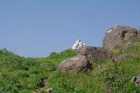 Le col d'acces au flanc Ouest du Pic de Girantes