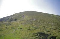 La crete finale de la montee au Pic de Girantes