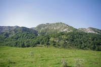 Le Pic de Girantes a peine visible entre le Sommet de Bataillet et le Pic de Taupe d'Ourse