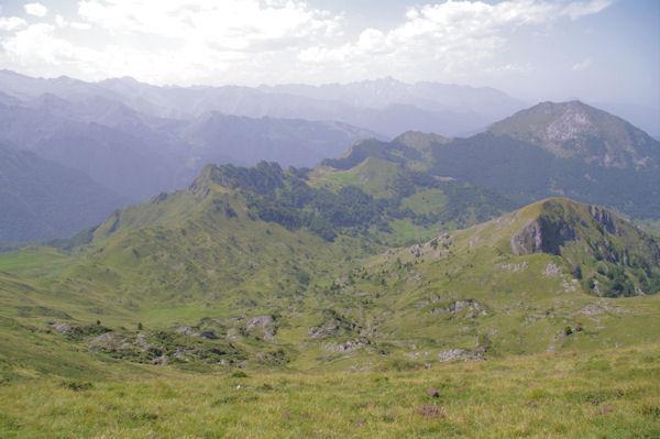 Le Cap du Paillé et plus loin, la Pique