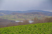 Le Lac de Filleit depuis Courtalas