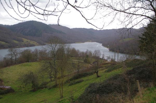 Le Lac de Mondely depuis Mondely
