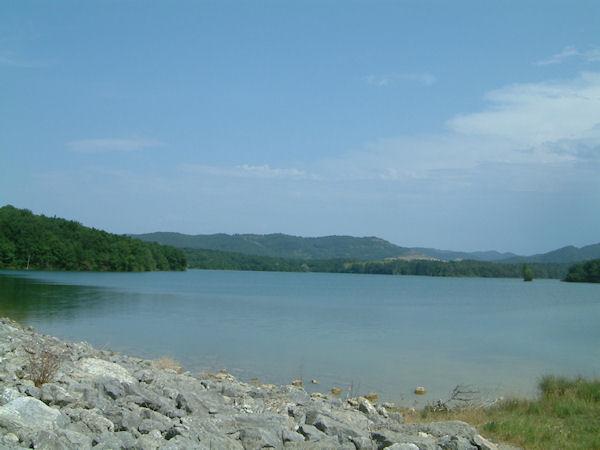 L'extrémité Sud Est du Lac Montbel