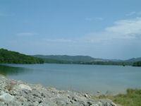 L&#39extremite Sud Est du Lac Montbel
