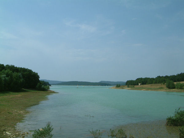Le Lac Montbel vers Luga