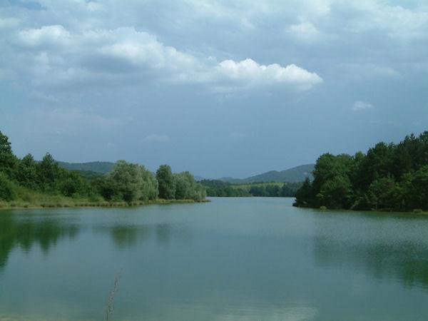 L&#39extrémité Sud Est du Lac Montbel