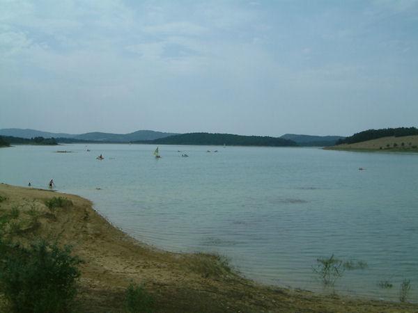 Le Lac Montbel à Montbel