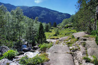 La vallée inférieure du Riutort
