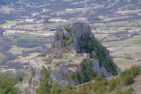 Le chateau cathare de Roquefixade