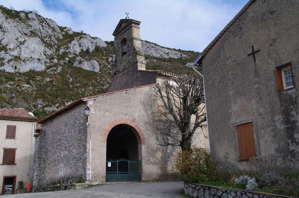 L_église de Roquefixade