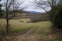 Le vallon sous les Clots de Gresat