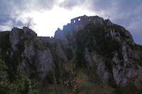 Le chateau de Roquefixade