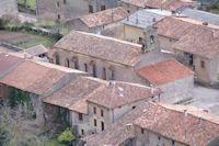 L'eglise de Roquefixade