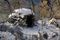 Un orri au dessus de la Fontaine Vive