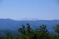 La crete du Pic Rouge de Bassies depuis la descente du Mont Calbech