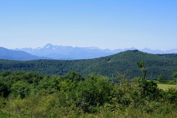 Mont Valier, Pic de Maubermé, Pic de Crabère… depuis Crouzelles