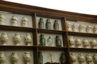 Dans l'ancienne pharmacie de St Lizier