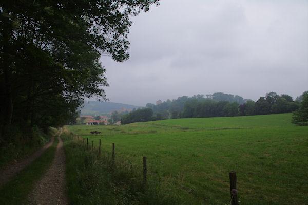 Le chemin menant à St Lizier près de Borde d_en bas