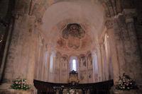 Les plafonds peints de la basilique de St Lizier