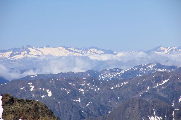 L_Aneto et les Posets depuis le Pic de Montcalm