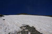 Le neve sous le Pic Verdaguer