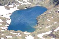 L'estanys d'Estats depuis le Pic Verdaguer