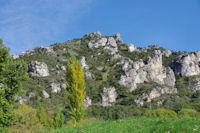La crête escarpée du Roc de Ste Julie