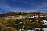 A l&#39horizon, le Pic de la Lauzate et le Mont Fourcat