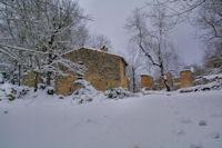 Maisons en ruine à Pech de Naut