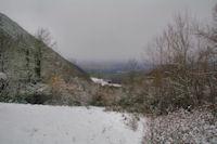 La vallee du ruisseau de l'Alses