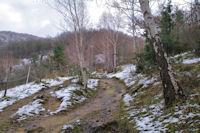 Le sentier Cathare vers La Coume