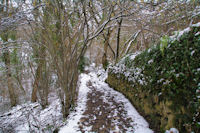 Le sentier Cathare vers Jean Germa