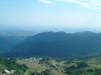 La station de Monts d&#39Olmes vue depuis le Pic du Han