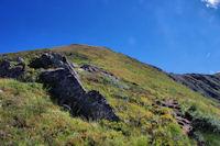 La montee finale au Pic de Sarrasi