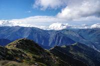 Pic de Sautezon, Pic des Enroucades et Pijol d'Argentan