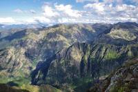 La vallee du ruisseau d'Escales
