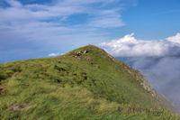 Le cairn sommital du Pic du Garbié de Brésoul