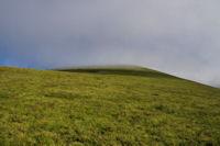 Le Pic du Garbie de Bresoul dans la brume