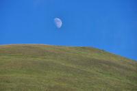Le Pic du Garbié de Brésoul fleurte avec la lune