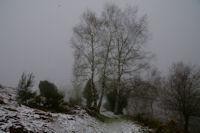 En descendant vers le Col de Blazy