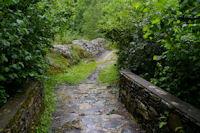 Le Pont de Chic sur le ruisseau de l'Artigue