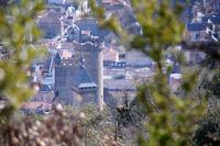 Le chateau de Foix depuis la Croix de St Sauveur