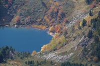 L'Etang de Rabassoles depuis le Pic de Tarbesou